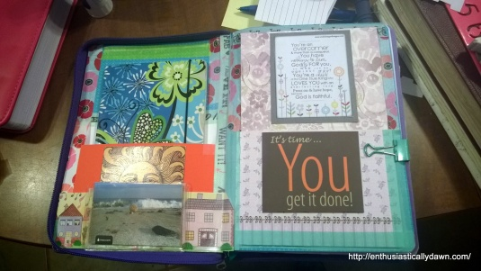 This shows the fancy little cover, (via Pocketful of Vintage) so you don't see my business (private papers)  if I don't want you to. Plus it just looks pretty!