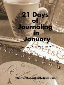 21 Days of Journaling in January