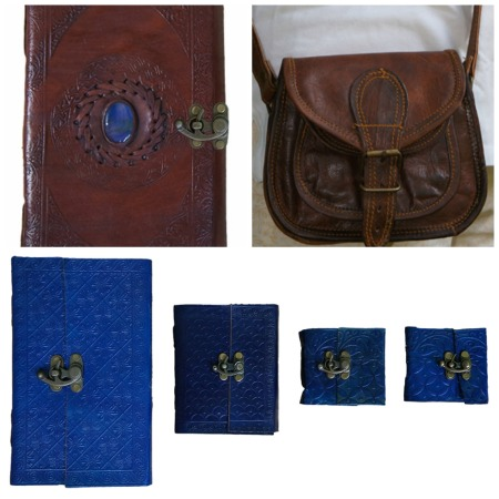 Earthbound Leather Journals and Bags