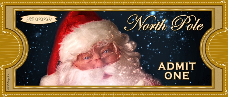 "photo credit: North Pole ""ADMIT ONE"" Ticket via photopin (license)"