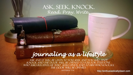 Ask, Seek, Knock: Seeking God With Pen and Paper