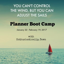 Join in for the 3rd Official Planner Bootcamp